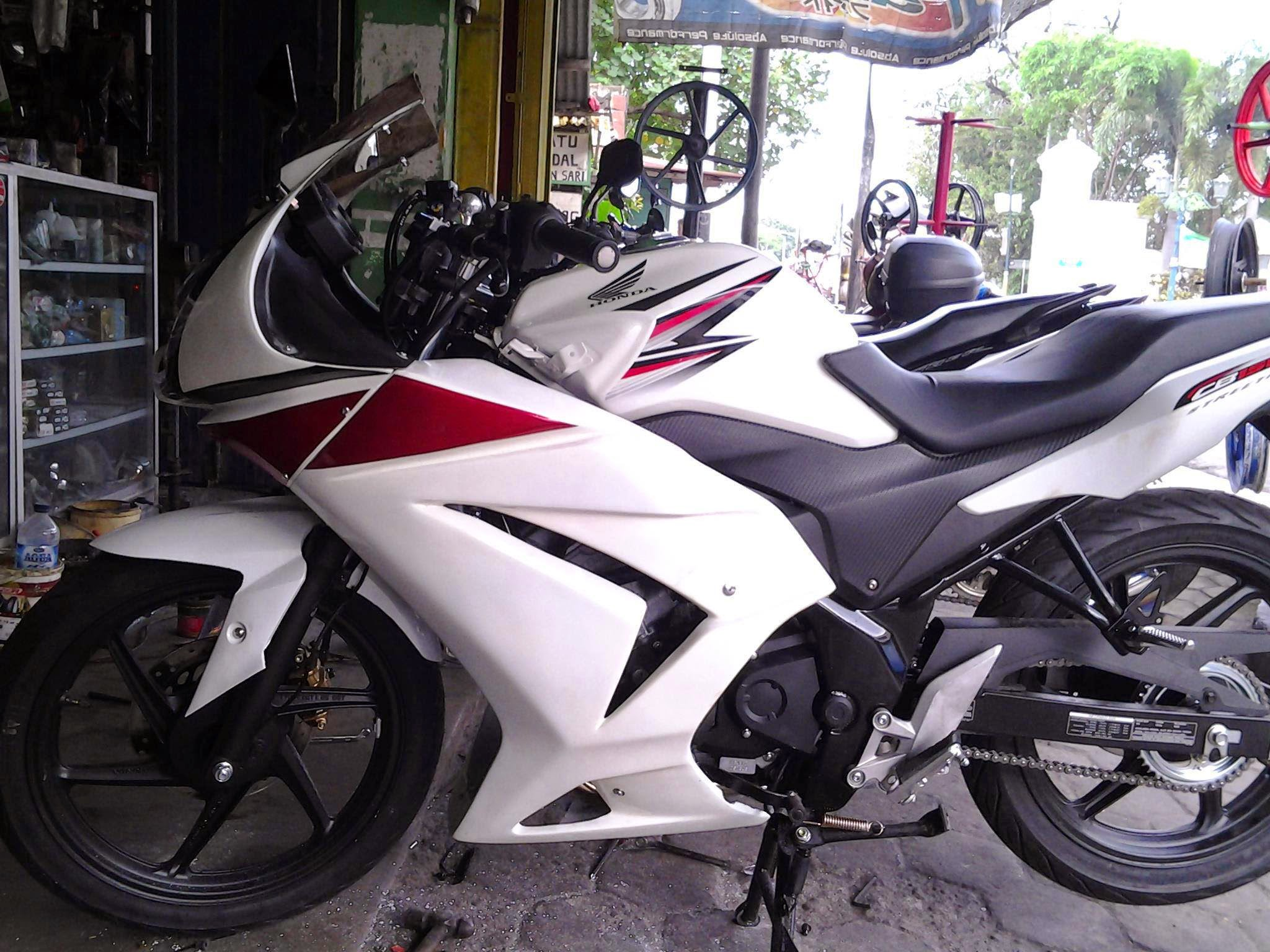 modifikasi cb150r full fairing