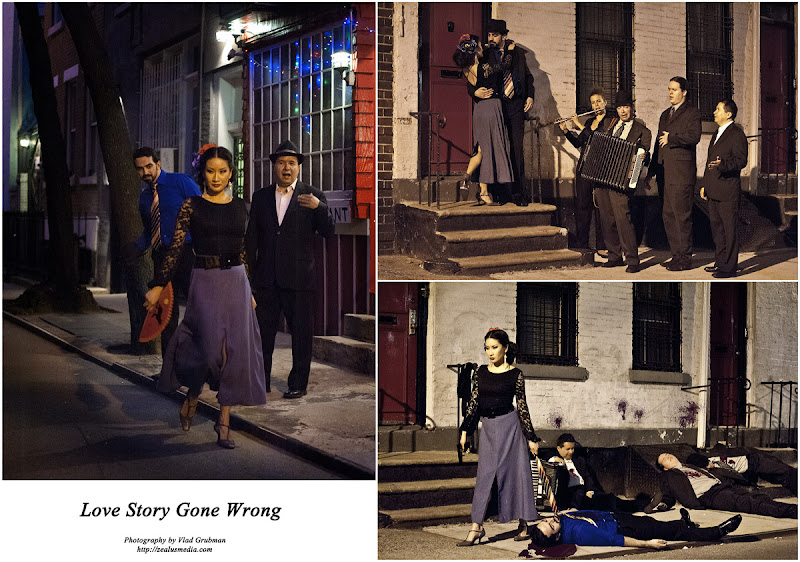 Love Story Gone Wrong - concept shoot by Vlad Grubman / ZealusMedia
