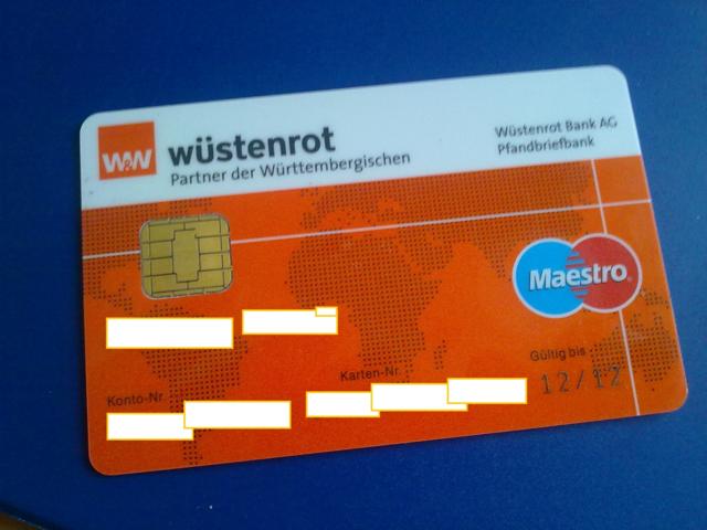 Prepaid Kreditkarte Anonym