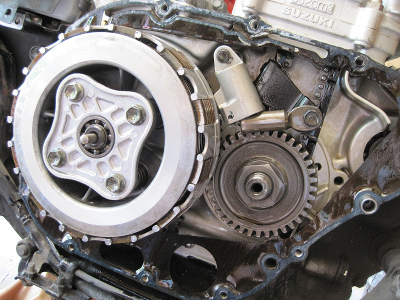 Suzuki Savage Engine Noise