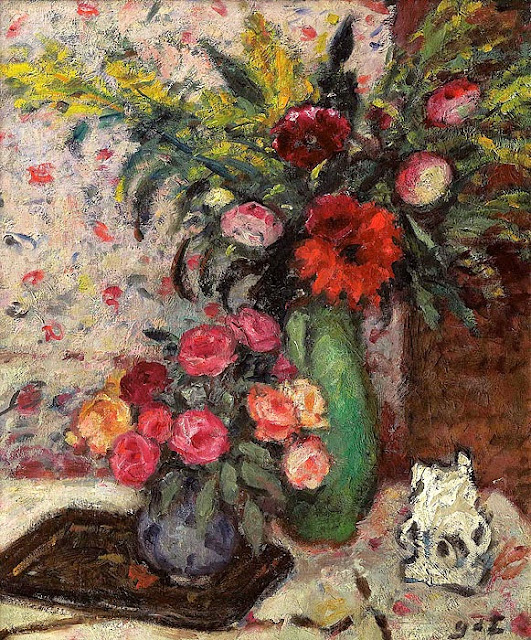 Georges d'Espagnat - Vase of Flowers