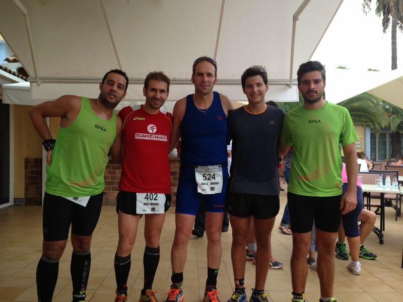 CSR Trail en la media maratón de alcudia