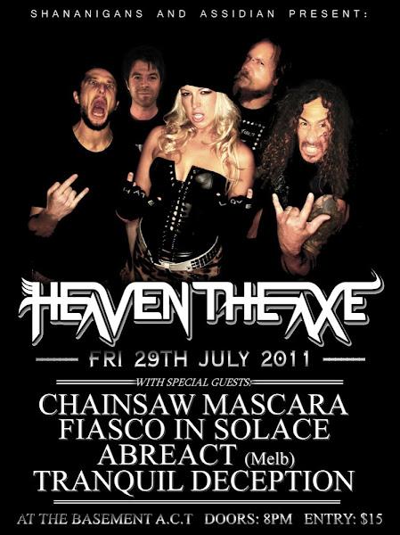 heaven the axe