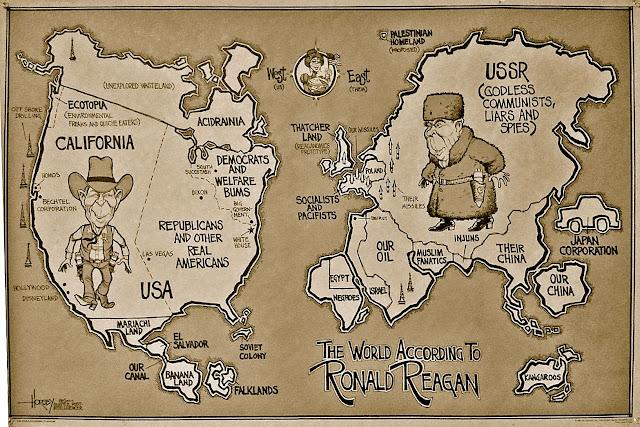 O mundo segundo Ronald Reagan