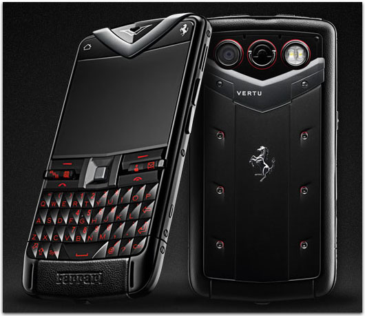 Vertu Constellation Quest Ferrari – Luxury Smartphone