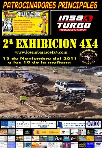 2ª Exibicion De 4x4 De Los Embarraos 4x4 santa pola Cartel%2525202011%252520fermin