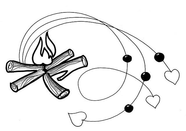 """Sinh hoạt lửa trại: Xếp củi, tạo màu lửa, làm đuốc, làm """"chuột"""" khai lửa…"""