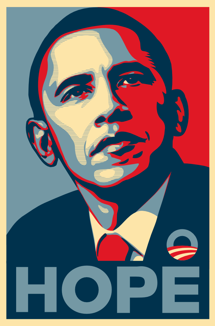 Obama Hope Poster hd The Barack Obama Hope Poster