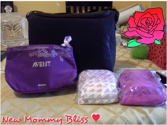 Cute Cosmetic Type Bag A Small Purple Ribbon For You To Snap On Your Bra So That Won T Forget Which Side Comes Next Daytime Tfeeding Pads