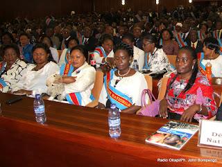 Des députés nationaux le 15/12/2012 au palais du peuple à Kinshasa, lors du discours du prédisent Joseph Kabila sur l'état de la nation devant les deux chambres du Parlement réunies en congrès. Radio Okapi/ Ph. John Bompengo