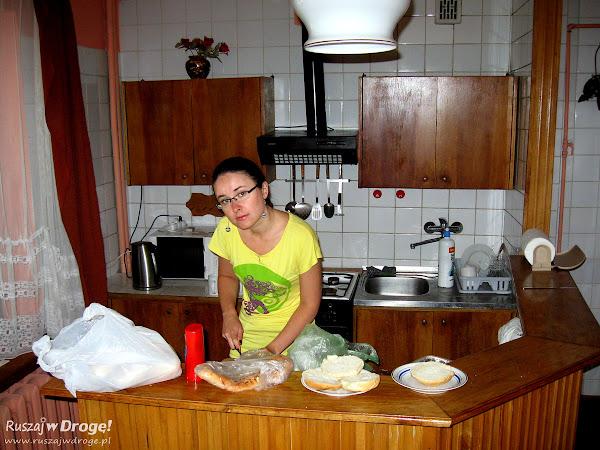 Szykowna Kasia w szykownej kuchni