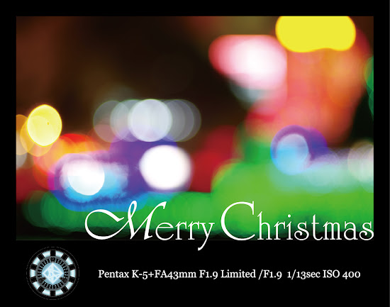 急就章的2011聖誕卡,請各位海涵