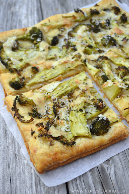 Broccoli and Pecorino Tart