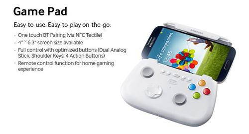 Samsung cũng ra mắt tay cầm chơi game mobile 2