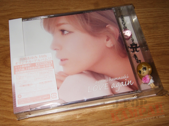 [CD Packaging] ayumi hamasaki - LOVE again (CD+Blu-ray Limited Edition)