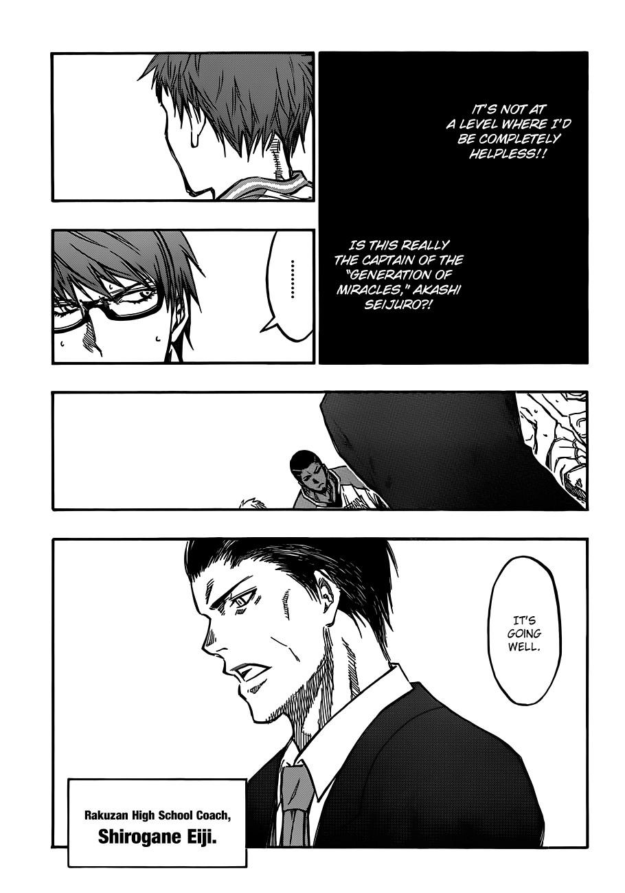 Kuroko no Basket Manga Chapter 176 - Image 09