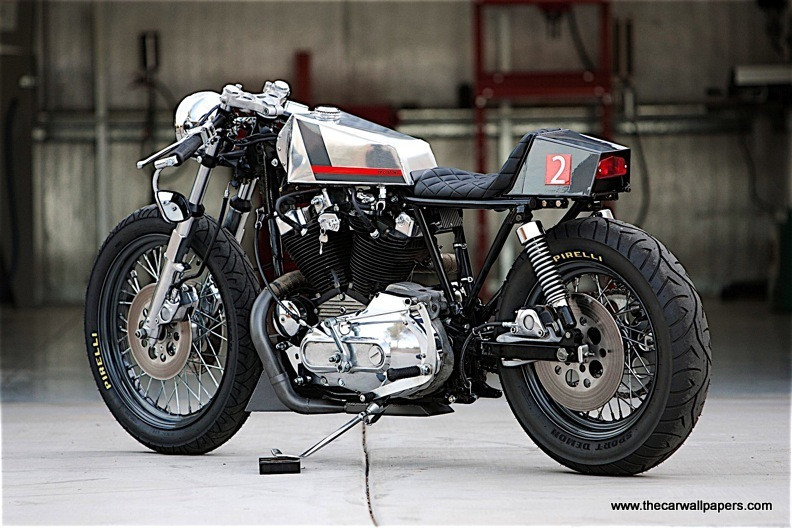 Naked Cafe Motorcycle by DP Customs
