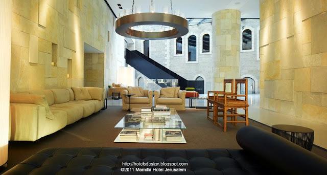 Mamilla hotel Jerusalem_Moshe Safdie_Piero Lissoni_2_Les plus beaux HOTELS DESIGN du monde