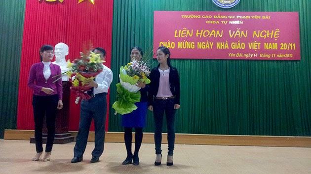Khoa Tự nhiên tổ chức Liên hoan văn nghệ chào mừng chào mừng ngày Nhà giáo Việt Nam 20/11
