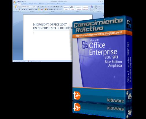 office 2007 sp3 blue edition (32/64-bit)