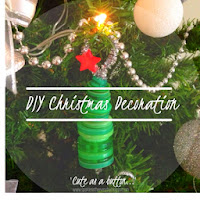 DIY Christmas Button Decoration