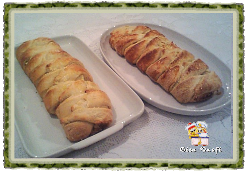 Pão Catarina doce e salgada