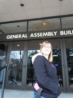 Open Carried at the General Assembly Building