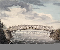 Bridges Erected Across the Ottawa River at the Chaudière Falls. After 1827