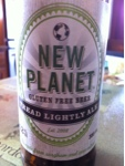 Hooray for New Planet Gluten Free Beer Company!