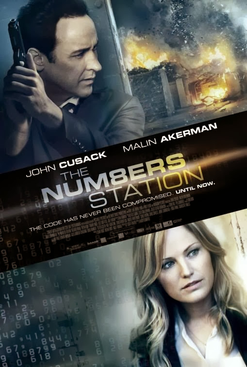 Poster Of English Movie The Numbers Station (2013) Free Download Full New Hollywood Movie Watch Online At Alldownloads4u.Com