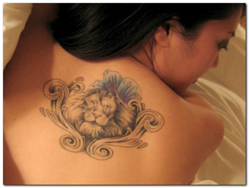 ae6f1deaf49f6 Leo tattoos are made by people born under this Zodiac sign. However, there  are even few people who have this tattoo made if their loved ones are born  under ...