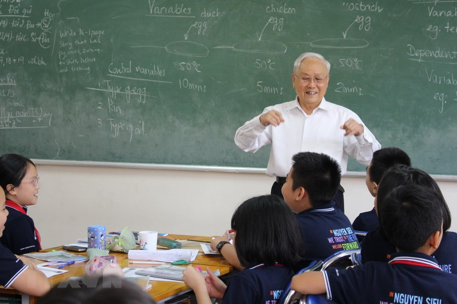 Các quy định về độ tuổi nghỉ hưu của giáo viên.