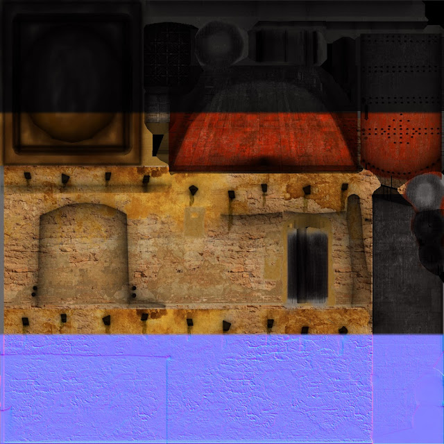 Desert House Textures