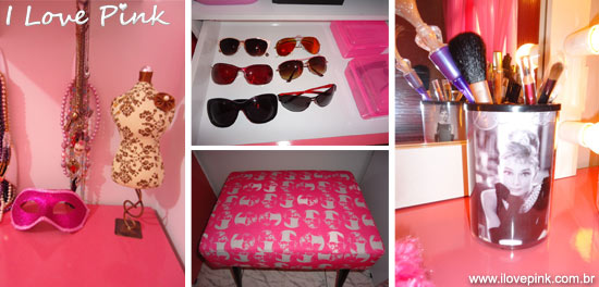 Meu quarto cor de rosa - Letícia