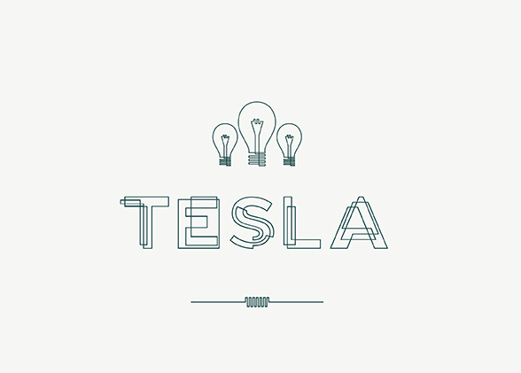 Tesla Free Fonts