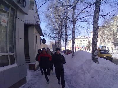 23-го февраля по всей России прошли акции здоровой молодёжи - Тольятти