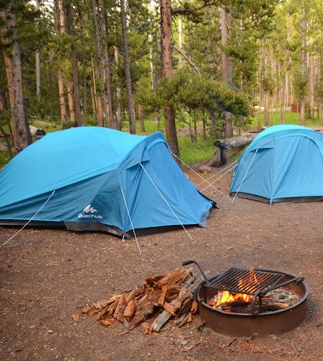 canyon village campground yellowstone