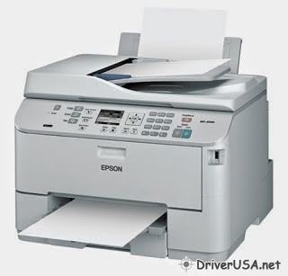 download Epson Workforce Pro WP-4590 printer's driver