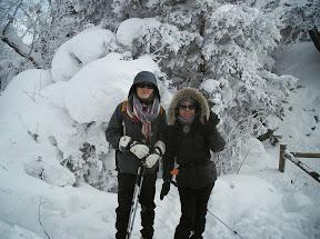 덕유산 2011년 1월 15일 칠연폭포-동엽령-향적봉-백련사-삼공리