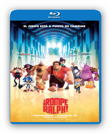 �Rompe Ralph! [BDRip 1080p][Dual AC3.DTS][Subs][Animaci�n][2012]