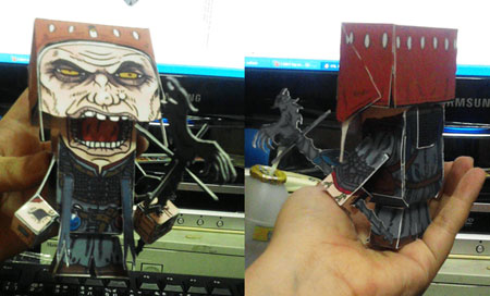 The Witcher 2 Dethmold Papercraft