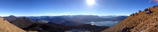 Alpenpanorama mit Walchensee