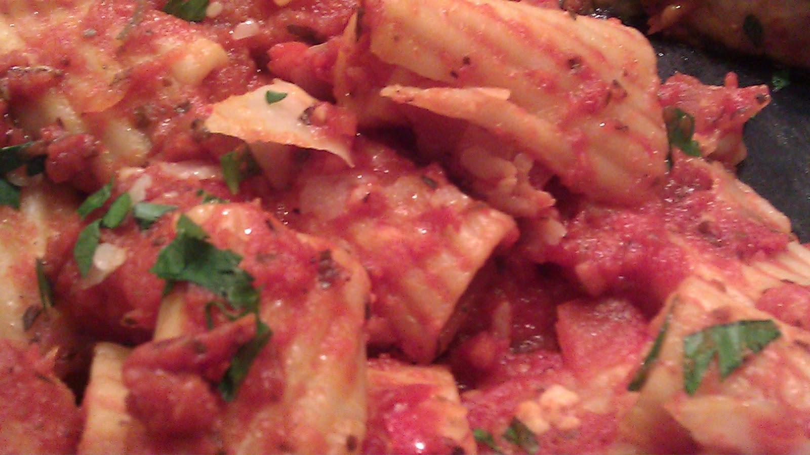 Chicken Parmesan Meatloaf and Veggie Marinara Sauce