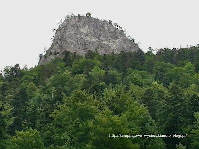 Szczyt Sokolicy w Pieninach