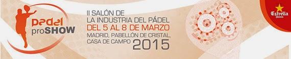 Padel Pro Show 2015, del 5 al 8 de marzo en el Palacio de Cristal