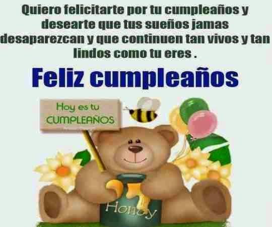 Hermosas felicitaciones para deseare feliz cumpleaños