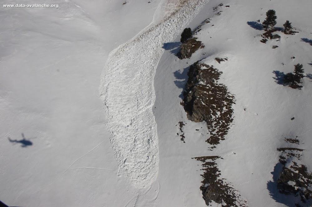 Avalanche Vanoise, secteur Rateau d'Aussois, Les Côtes, sous le Col du Barbier - Photo 1