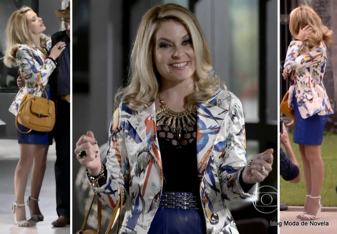 moda da novela Gerção Brasil - look da Pamela dia 9 de maio