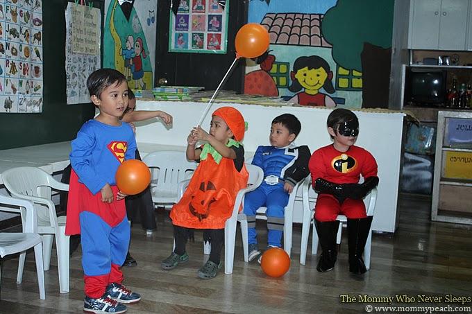 School Halloween Party 2013