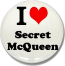 I Heart Secret McQueen